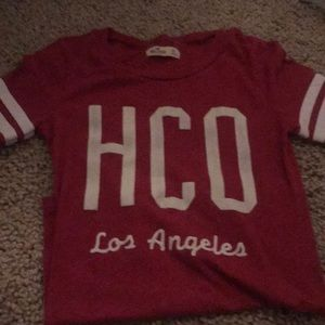 Hollister t-shirt.